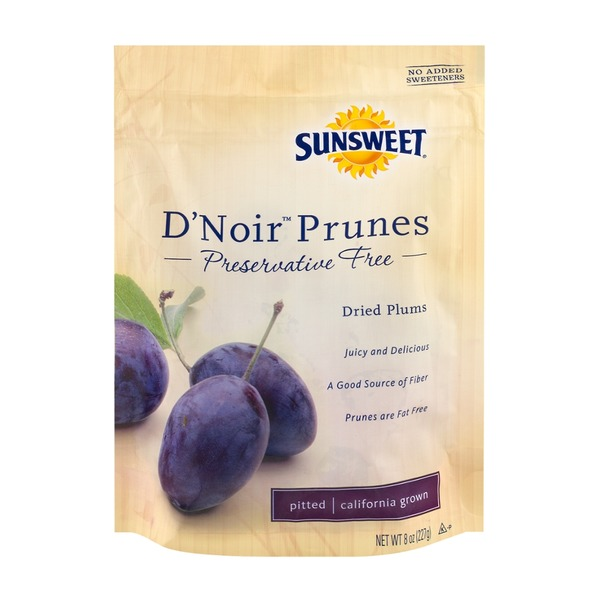 Sunsweet D'Noir Prunes, Pitted