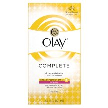 Olay Complete Lotion All Day Moisturizer with SPF 15 for Normal Skin, 6.0 fl oz