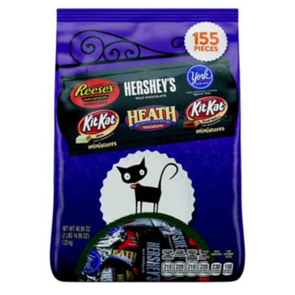 The Hershey Company Miniatures Assorted Candy