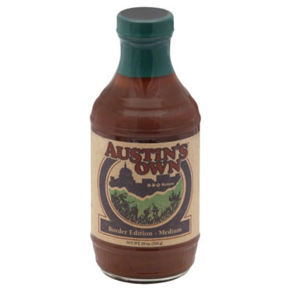 Austins Own BBQ Border Edition Medium Sauce