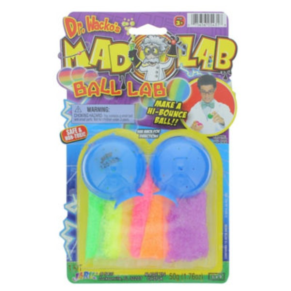 Ja-Ru Inc. Dr. Wacko's Mad Lab Ball Lab, Assorted Colors