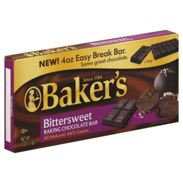 Baker's Premium Bittersweet Chocolate Baking Bar