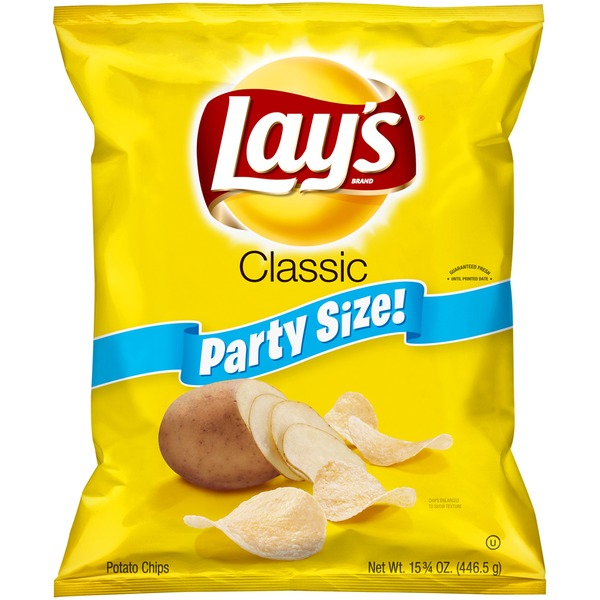 Lay's Party Size Classic Potato Chips