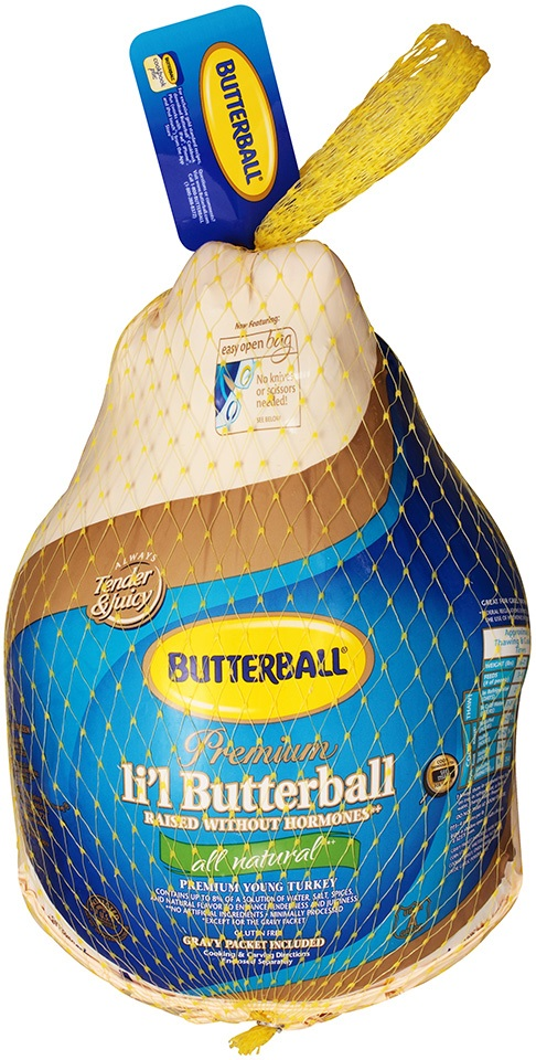 Lil' Butterball Frozen All Natural Premium Whole Turkey 9-