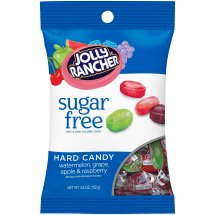 JOLLY RANCHER Sugar Free Hard Candy in Assorted Fruit Flavors, 3.6 Ounces