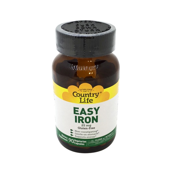 Country Life Easy Iron 25 mg