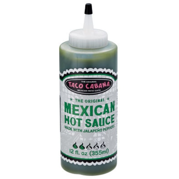 Taco Cabana Jalapeno Pepper Mexican Hot Sauce