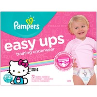 Pampers Easy Ups Hello Kitty 3T-4T Training Underwear
