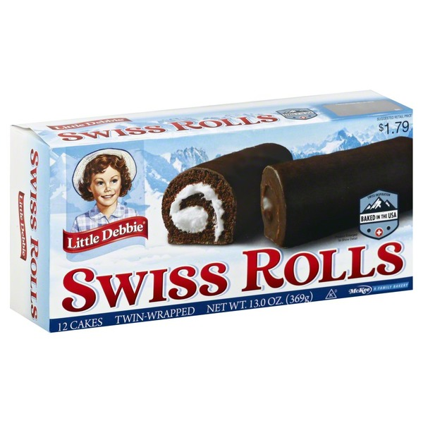 Little Debbie Swiss Rolls