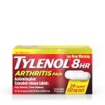 Tylenol 8 Hour Arthritis Pain Tablets with Acetaminophen, 24 ct