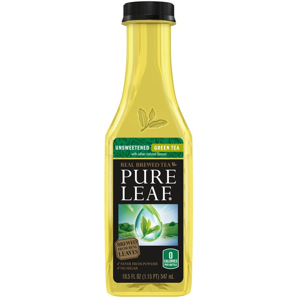 Lipton Pure Leaf Unsweetened Green Tea