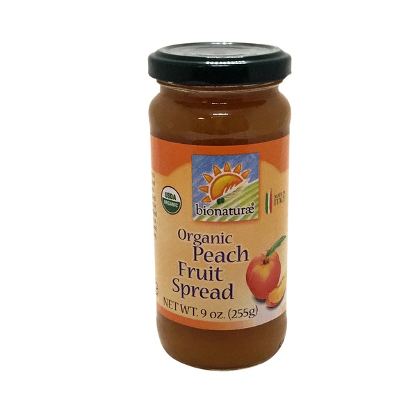 Bionature Organic Peach Fruit Spread