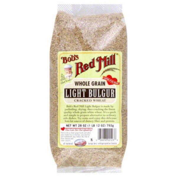 Bob's Red Mill Light Bulgur Cracked Wheat Whole Grain