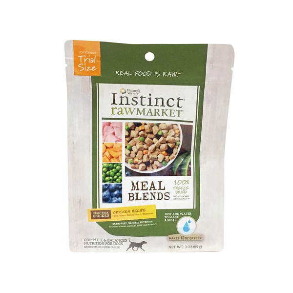 Nature's Variety Dog Insant Food Raw Market Chicken