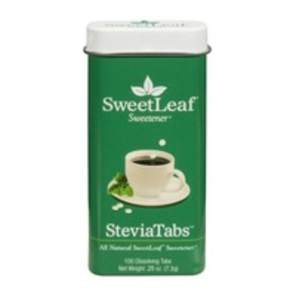 Sweet Leaf Tea Co Stevia Tabs Sweetener - 100 CT