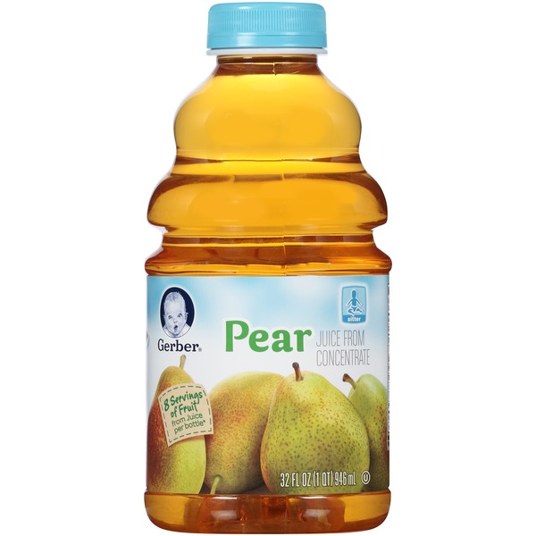 Gerber Juice Pear Juice Fruit