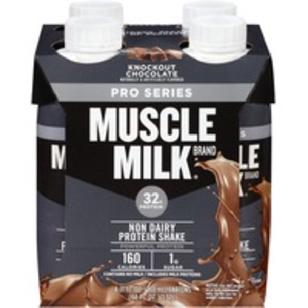 Muscle Milk Knockout Chocolate Non-Dairy Protein Shake