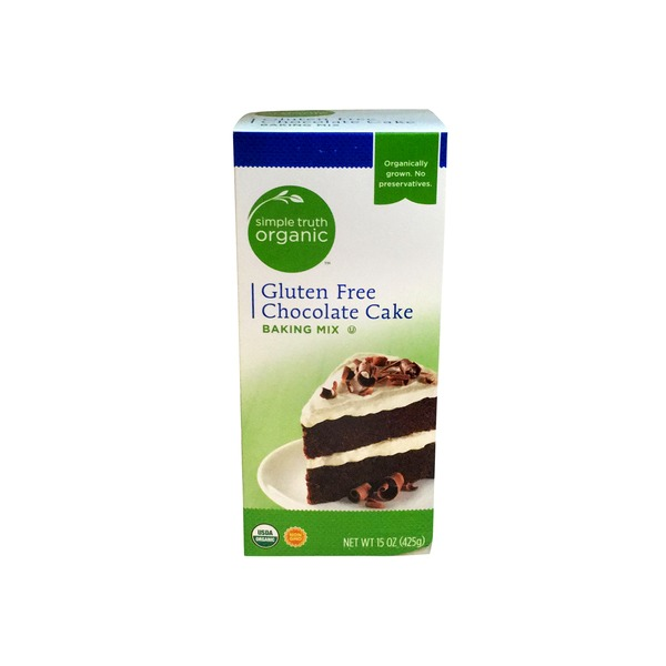 Simple Truth Organic Gluten Free Chocolate Cake Baking Mix