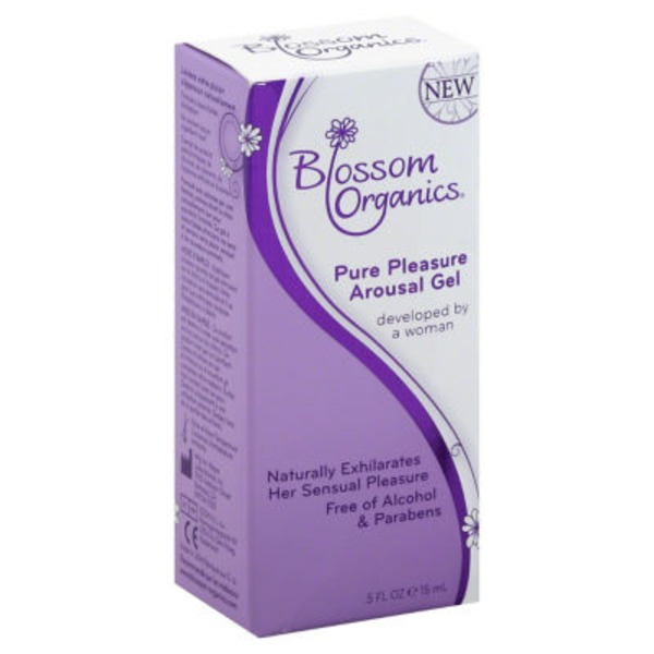 Blossom Organics Pure Pleasure Arousal Gel