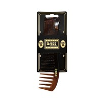 Bass Large Ladies Fine and Wide Tooth Plastic Comb
