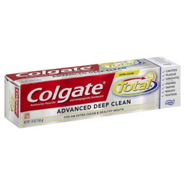 Colgate Total Advanced Clean Anticavity Fluoride and AntigingivitisToothpaste