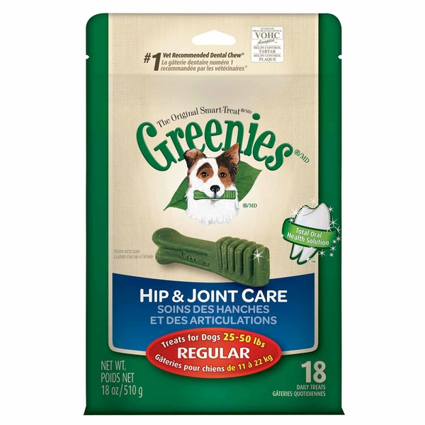 Greenies Hip & Joint Care Regular Dog Treats
