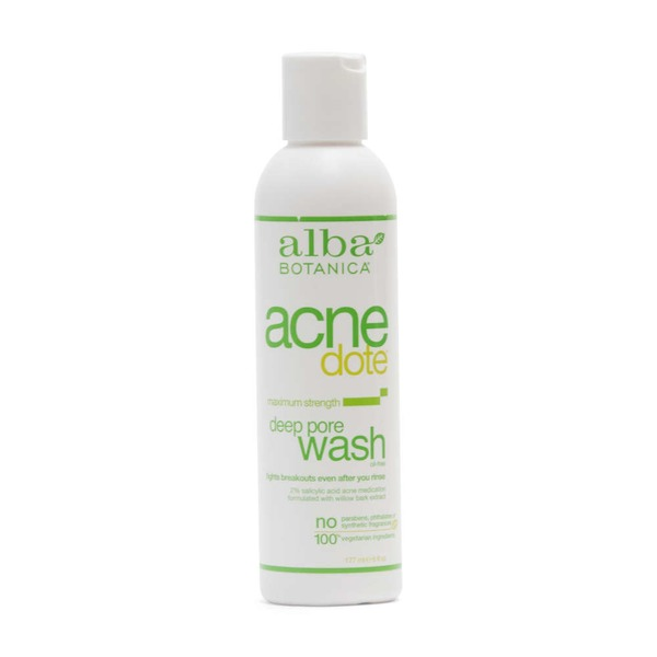 Alba Botanica Natural Acne Dote Deep Pore Wash