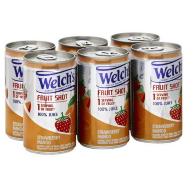 Welch's Strawberry Mango Fruit Shot