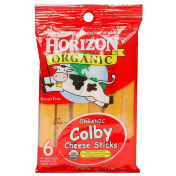Horizon Organics Colby Cheese Sticks