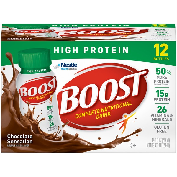 Boost High Protein Chocolate Sensation Complete Nutritional Drink