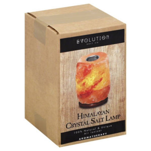 Evolution Salt Himalayan Crystal Salt Lamp Aromatherapy Ionizer