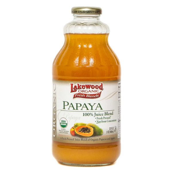 Lakewood 100% Papaya Juice Blend