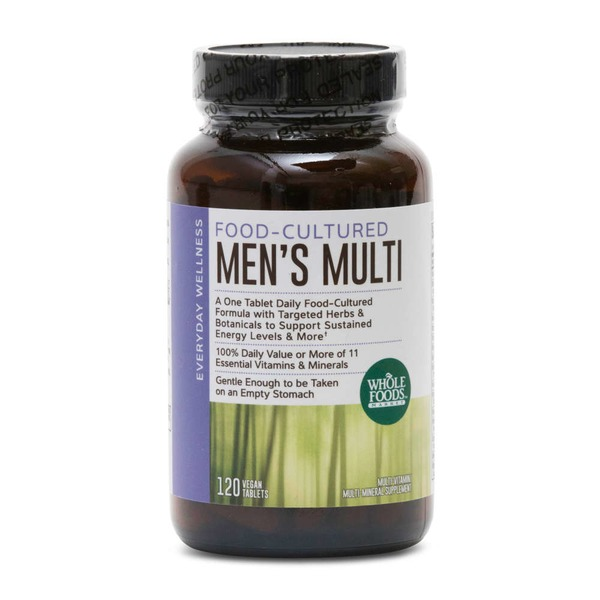 Whole Foods Market Men's Multivitamin Vegan Talets