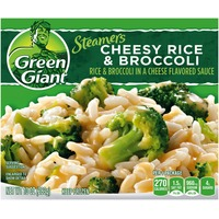 Green Giant Cheesy Rice & Broccoli Steamers