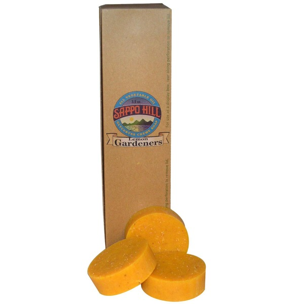 Sappo Hill Soap Gardener's Lemon Soap