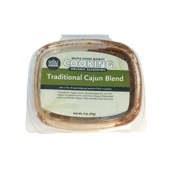 Whole Foods Market Organic Traditional Cajun Seasoning