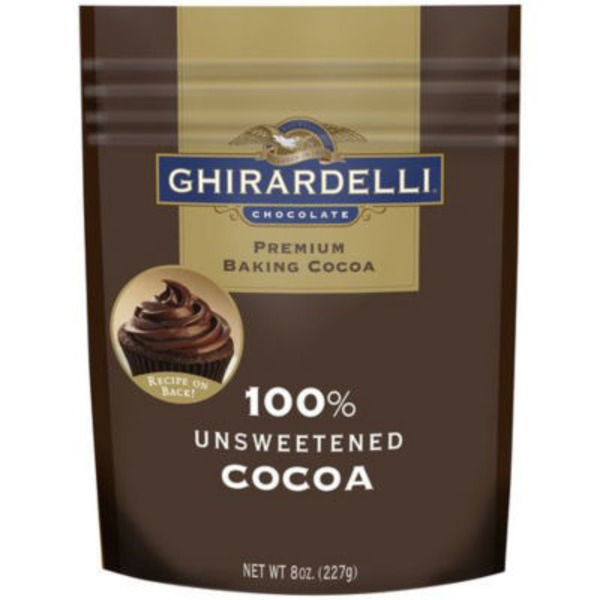 Ghirardelli Chocolate 100% Unsweetened Baking Cocoa