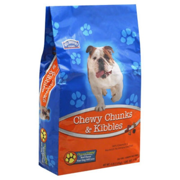 Hill Country Fare Chewy Chunks & Kibbles Dog Food