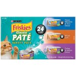 Purina Friskies Pate Adult Wet Cat Food Variety Pack - (24) 8.25 lb. Cans