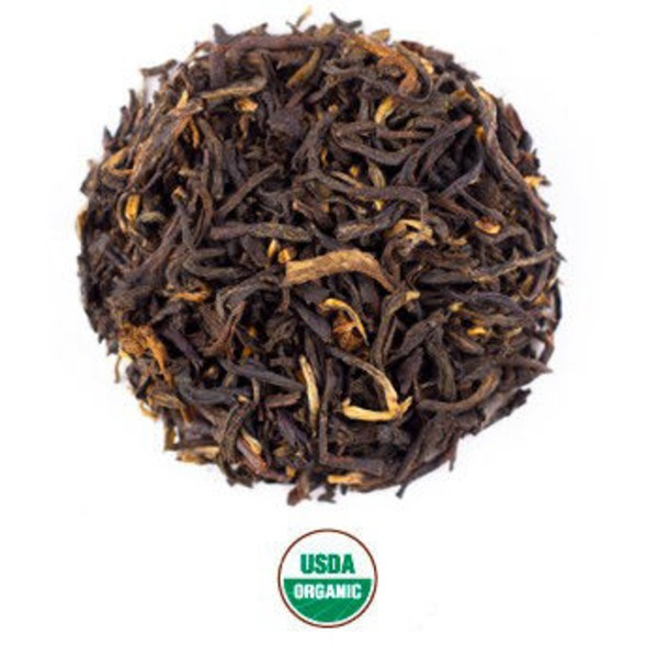 Rishi Tea Vanilla Bean Black Tea Blend