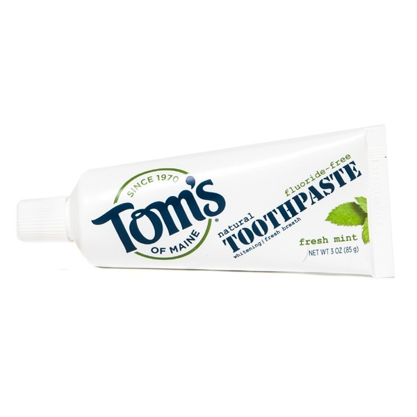 Toms of Maine Fresh Mint Whitening Fluoride-Free Toothpaste