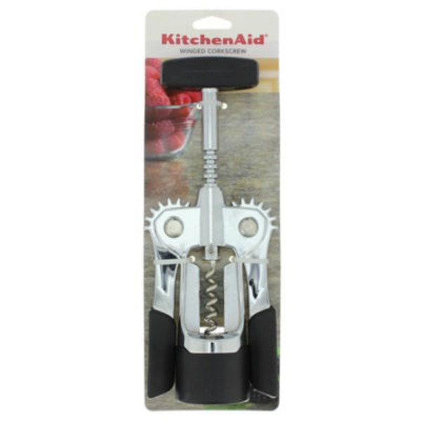 KitchenAid Black Winged Corkscrew