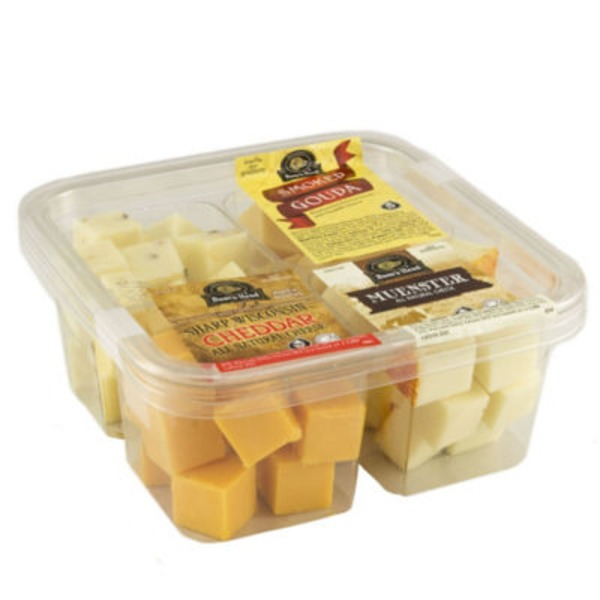 Boar's Head Four Variety Cheese Cubes