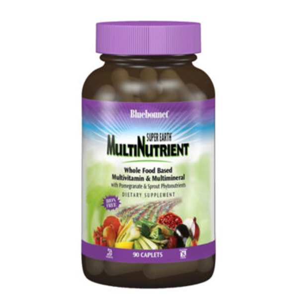 Bluebonnet Nutrition Super Earth Multinutrient Formula Iron Free