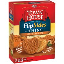 Keebler Town House Pretzel Thins Parmesan Herb Crackers 10 oz. Box