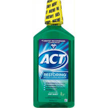 ACT Restoring Mint Burst Anticavity Fluoride Mouthwash