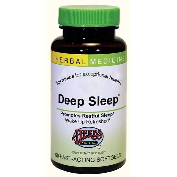 Herbs Etc. Deep Sleep Softgel