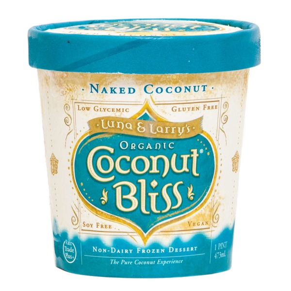 Luna & Larry's Coconut Bliss Frozen Naked Coconut Bliss Dessert