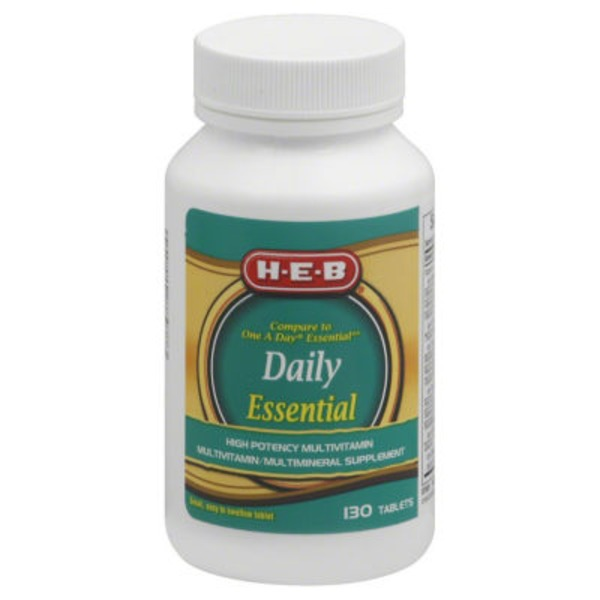 H-E-B Daily Essential Tablets