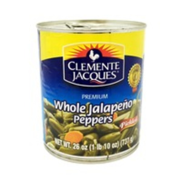 Clemente Jacques Whole Jalapeno Peppers Pickled